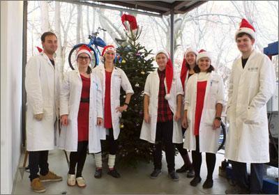 BIOLAB Umweltanalysen, Braunschweig, Weihnachtsgruß 2018
